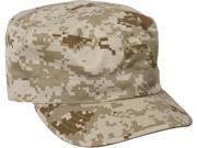 Desert Digital Camouflage Military Patrol Fatigue Cap
