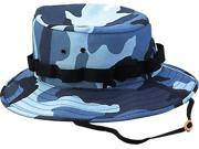 Sky Blue Camouflage Military Jungle Hat
