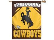 "Wyoming Cowboys Official NCAA 27""""x27"""" Banner Flag by Wincraft"" 9SIA4671BY4961"