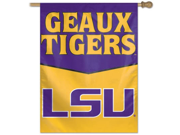 """LSU Tigers NCAA 27""""""""x27"""""""" Banner Flag by Wincraft Official Team Fan Gear"""" 9SIA4671BY5770"""