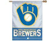 "Milwaukee Brewers Official MLB 27""""x27"""" Banner Flag by Wincraft"" 9SIA4671BY4499"