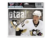 "Pittsburgh Penguins Official NHL 4.5""""x6"""" Car Window Cling Decal by Wincraft"" 9SIA12Y0AW5595"