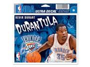 "Oklahoma City Thunder Official NBA 4.5""""x6"""" Car Window Cling Decal by Wincraft"" 9SIA12Y0EA8777"