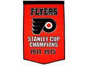 Winning Streak Sports 78040 Philadelphia Flyers Banner