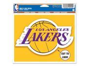 Los Angeles Lakers Official NBA Window Cling Decal by Wincraft 9SIA12Y1GT5905