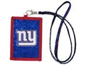 New York Giants Official MLB Beaded Lanyard Wallet by Rico Industries 540968 9SIA12Y1MZ9170