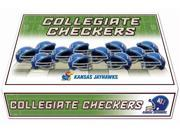 Kansas Jayhawks Official NCAA Checker Set by Rico Industries 221452 9SIA12Y1MZ9304