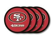 San Francisco 49ers Official NFL Coaster Set by Duck House 481258 9SIA00Y4506121