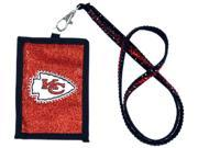 Kansas City Chiefs Official NFL Beaded Lanyard Wallet by Rico Industries 541132 9SIA12Y1N01253