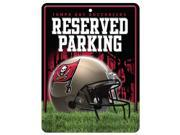 Tampa Bay Buccaneers Official NFL Metal Parking Sign by Rico Industries 549787 9SIA5VG4GM6609