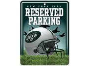 New York Jets Official NFL Metal Parking Sign by Rico Industries 549886 9SIA5VG4GM7989