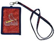 St. Louis Cardinals Official MLB  Beaded Lanyard Wallet by Rico Industries 9SIA12Y1N01468