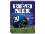 New York Giants Official MLB Metal Parking Sign by Rico Industries 549862 9SIA00Y4506061
