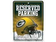 Green Bay Packers Official NFL Metal Parking Sign by Rico Industries 548544 9SIA5VG3ZW0745
