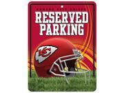 Kansas City Chiefs Official NFL Metal Parking Sign by Rico Industries 549817 9SIA5VG4GM7928