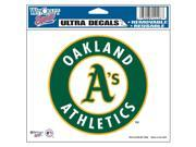 "Oakland Athletics Official MLB 4.5""""x6"""" Car Window Cling Decal by Wincraft"" 9SIA12Y0AV2272"