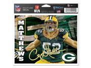 """Green Bay Packers Official NFL 4.5""""""""x6"""""""" Car Window Cling Decal by Wincraft"""" 9SIA12Y0UN4631"""