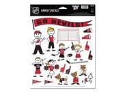 """New Jersey Devils Official NHL 11""""""""x17"""""""" Family Car Decal by Wincraft"""" 9SIA12Y11E6266"""
