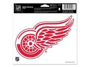 """Detroit Red Wings Official NHL 4.5""""""""x6"""""""" Car Window Cling Decal by Wincraft"""" 9SIA12Y1498863"""