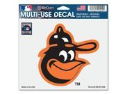"""Baltimore Orioles Official MLB 4.5""""""""x6"""""""" Car Window Cling Decal by Wincraft"""" 9SIA12Y0AU1867"""