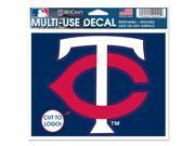 Minnesota Twins Official MLB Window Cling Decal by Wincraft