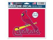 St. Louis Cardinals Official MLB Window Cling Decal by Wincraft 9SIA12Y1GT5987