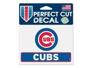 "Chicago Cubs Official 4""x5"" Die Cut Decal by Wincraft 17834014"