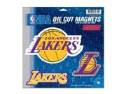 Los Angeles Lakers Official NBA Car Magnet by Wincraft 9SIA12Y1GT5984