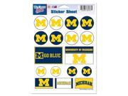 "Michigan Wolverines Official NCAA 5""x7"" Sticker Sheet by Wincraft"