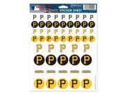 Pittsburgh Pirates Official MLB Sticker Sheet by Wincraft