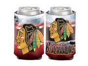 """Chicago Blackhawks Official NHL 4"""""""" Tall Coozie Can Cooler by Wincraft"""" 9SIA12Y0940965"""