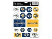 "Nashville Predators Official NHL 5""x7"" Sticker Sheet by Wincraft"