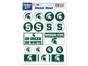 """Michigan State Spartans Official NCAA 5""""""""x7"""""""" Sticker Sheet by Wincraft"""" 9SIA12Y0AU6073"""