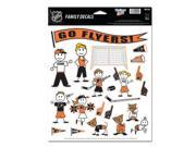 """Philadelphia Flyers Official NHL 11""""""""x17"""""""" Family Car Decal by Wincraft"""" 9SIA12Y11R5158"""