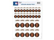 """San Francisco Giants Official MLB 5""""""""x7"""""""" Sticker Sheet by Wincraft"""" 9SIA12Y0NB5033"""