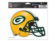 "Green Bay Packers Official NFL 4.5""""x6"""" Car Window Cling Decal by Wincraft"" 9SIA12Y0AU1878"