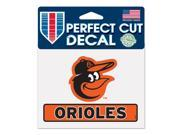 "Baltimore Orioles Official 4""""x5"""" Die Cut Decal by Wincraft 17774014"" 9SIA12Y1F69809"