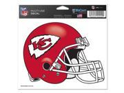 "Kansas City Chiefs Official NFL 4.5""""x6"""" Car Window Cling Decal by Wincraft"" 9SIA12Y0EG7374"