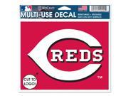 Cincinnati Reds Official MLB Window Cling Decal by Wincraft 9SIA12Y1HV8636
