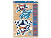 """Oklahoma City Thunder 11""""""""x17"""""""" Ultra Decal Window Cling by Wincraft 43232014"""" 9SIA12Y1F54283"""