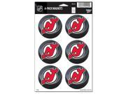"""New Jersey Devils Official NHL 2"""""""" Car Magnet 6-Pack by Wincraft"""" 9SIA12Y1083722"""
