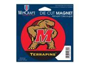 "Maryland Terrapins Official NCAA 4.5""x6"" Car Magnet by Wincraft"