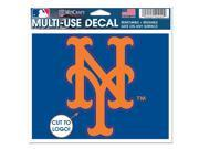 New York Mets Official MLB Window Cling Decal by Wincraft 9SIA12Y1GT5907