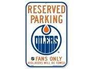 """Edmonton Oilers Official NHL 11""""x17"""" Sign by Wincraft"""