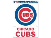 Chicago Cubs Official MLB 11 inch  x 17 inch  Car Window Cling Decal by Wincraft 9SIA12Y0AV2228