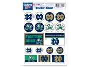 "Notre Dame Fighting Irish Official NCAA 5""x7"" Sticker Sheet by Wincraft"