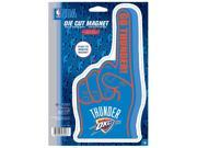 Oklahoma City Thunder Official NBA Car Magnet by Wincraft 9SIA12Y1GT5926