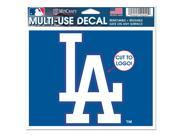 Los Angeles Dodgers Official MLB Window Cling Decal by Wincraft