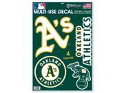 Oakland Athletics Official MLB Window Cling Decal by Wincraft