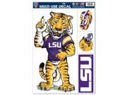 """LSU Tigers Official NCAA 11""""""""x17"""""""" Car Window Cling Decal by Wincraft"""" 9SIA12Y0NW6674"""